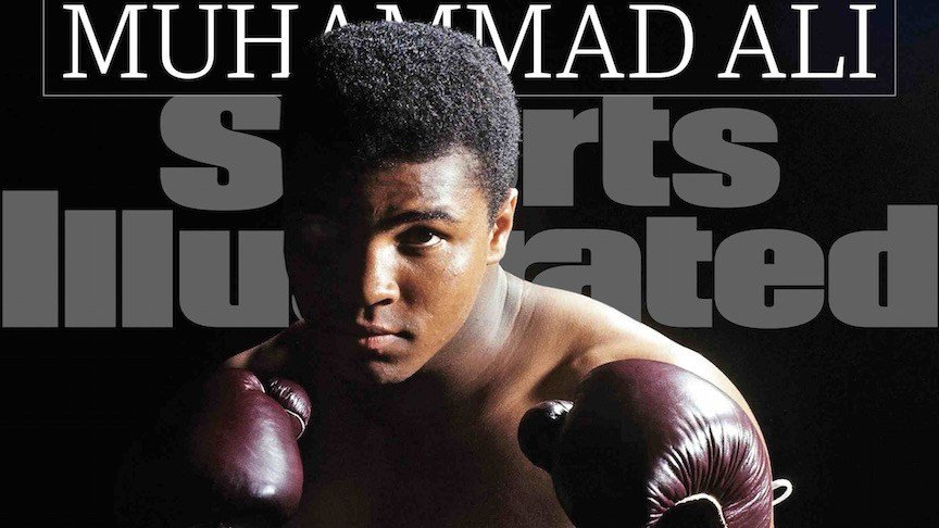 Sports Illustrated's Sept. 30 cover features Muhammad Ali, for the 39th time.