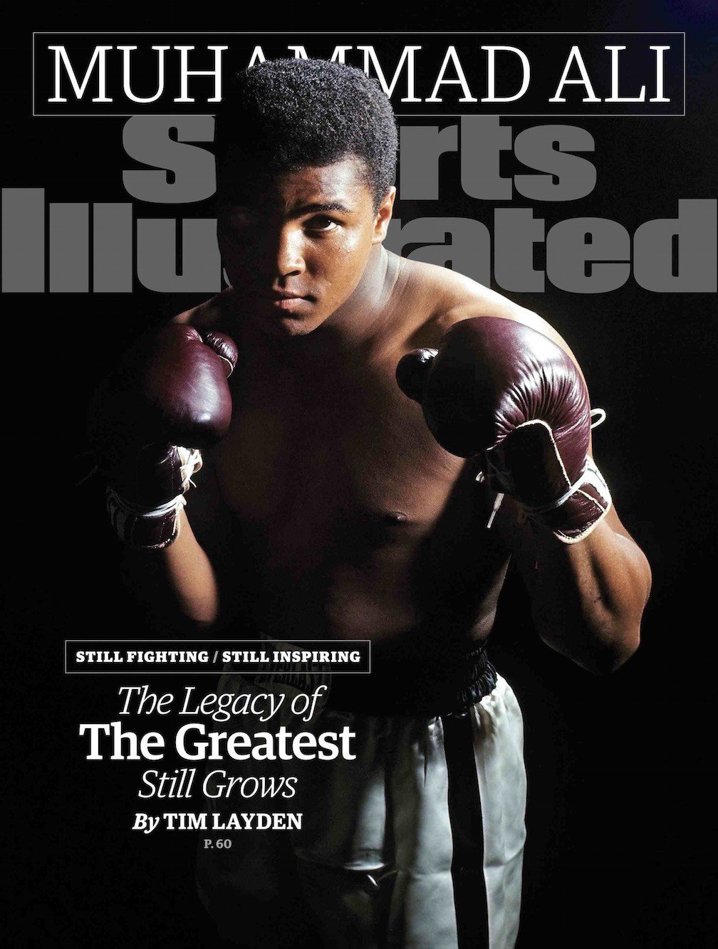 Sports Illustrated's cover for Sept. 30, 2015. Cover photo by Neil Leifer.