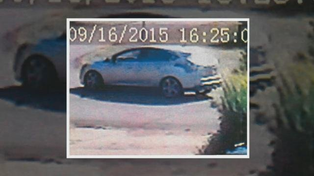 Surveillance image of vehicle sought by Mt. Washington police.