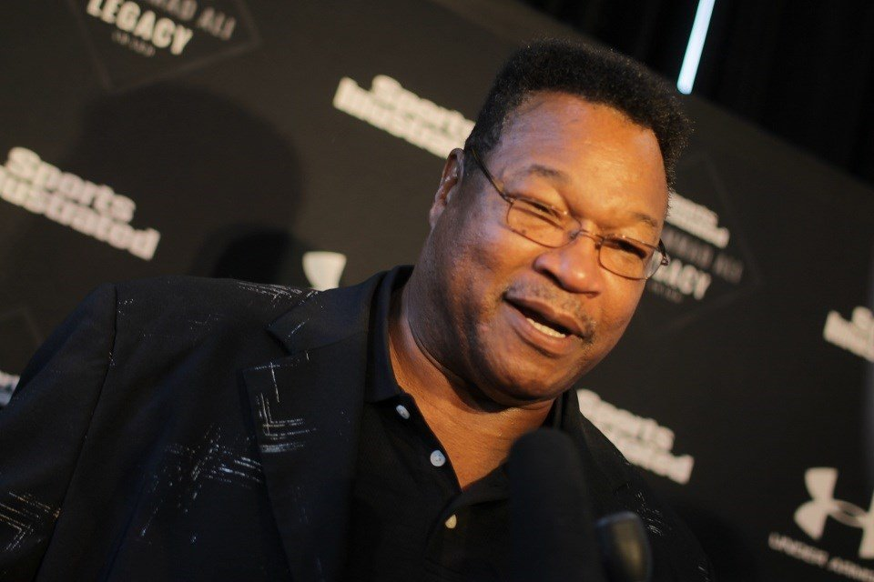 Former Ali boxing opponent Larry Holmes