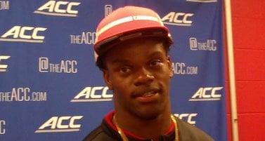 Louisville quarterback Lamar Jackson is already racing into the record book.