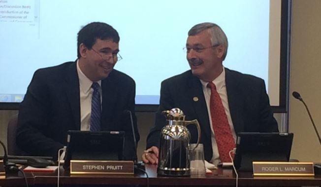 New Kentucky Education Commissioner Stephen Pruitt on Oct. 6, 2015 (Toni Konz, WDRB News)