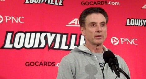 Rick Pitino said that he is still trying to sort through the stories in the Louisville basketball scandal.