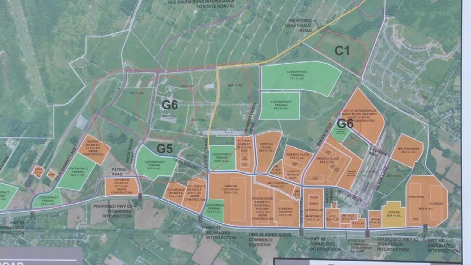 The Army still owns about 300 acres of the land, but the plan is to have it transferred to River Ridge by this time next year.