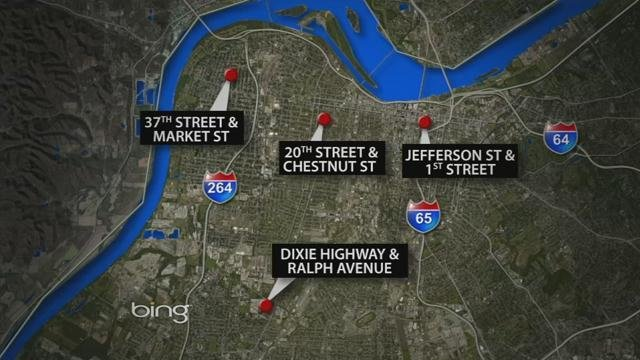 The shooting was part of a violent 24 hours in Metro Louisville involving fourmurders.