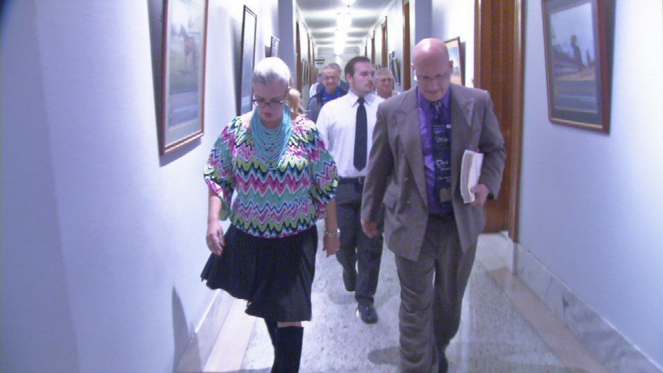 A half dozen pastors and supporters of Rowan Co. Clerk Kim Davis came to the Capitol to try and convince the governor to see things their way, but they left disappointed.