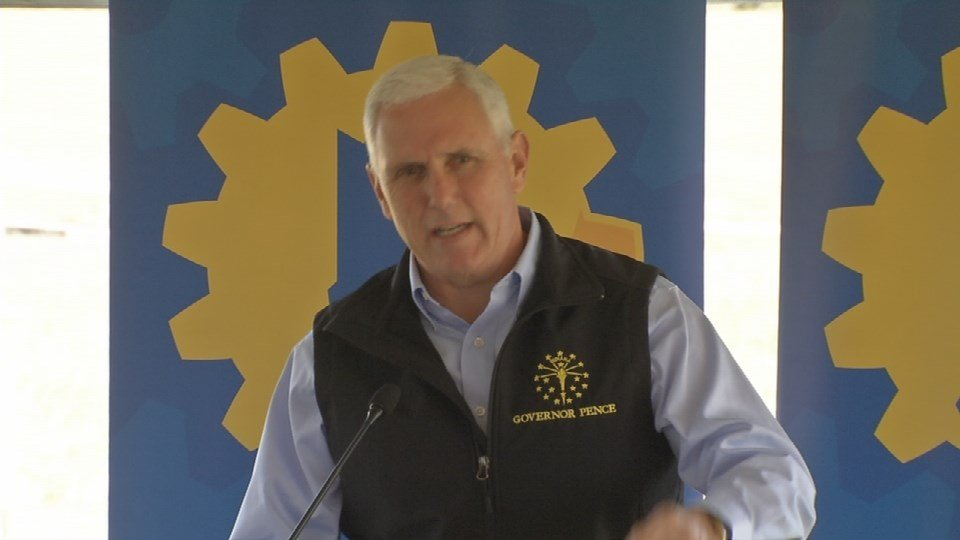 Indiana Gov. Mike Pence says
