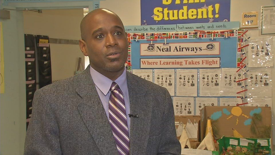 JCPS chief equity officer John Marshall (Photo by Toni Konz, WDRB News)