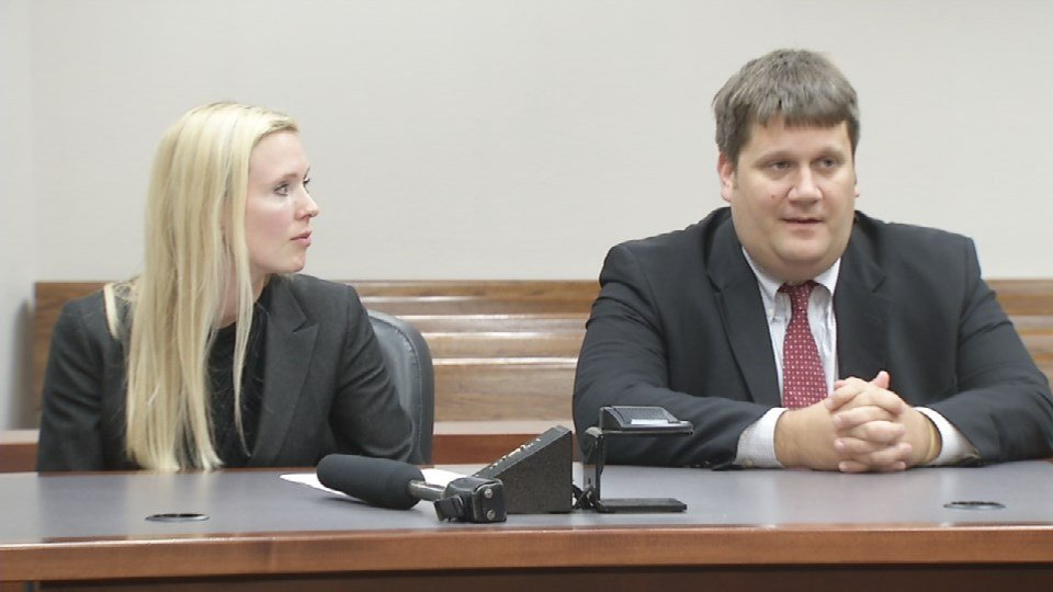 """Assistant Commonwealth's Attorney John Balenovich (right), along with fellow assistant Commonwealth's Attorney Diane Arnold (left), are heading up Jefferson County's """"Rocket Docket."""""""