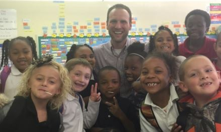 Joshua DeWar, teacher at Engelhard Elementary School (submitted photo)
