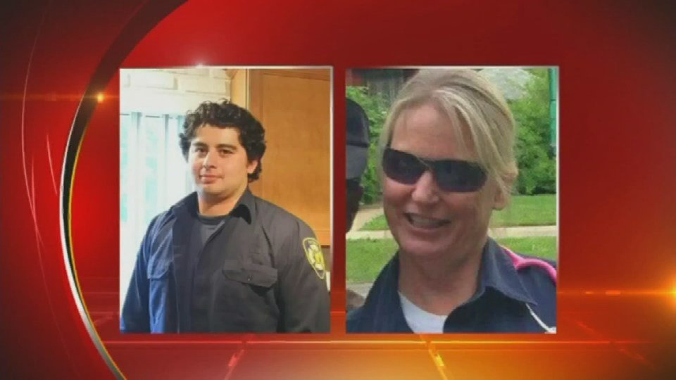 EMTs Kelly Adams and Alfredo Rojas had wounds to their faces and hands from the attack that involved a knife or some other sharp object.