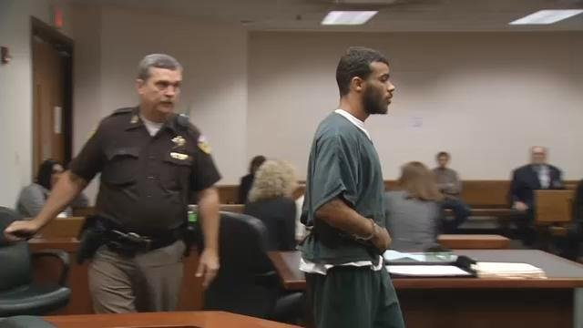 Jay Parks appeared in court after being arrested for allegedly stealing property and advertising it for sale on Facebook.