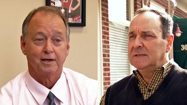Jeffersonville Mayor Mike Moore and Councilman Dennis Julius