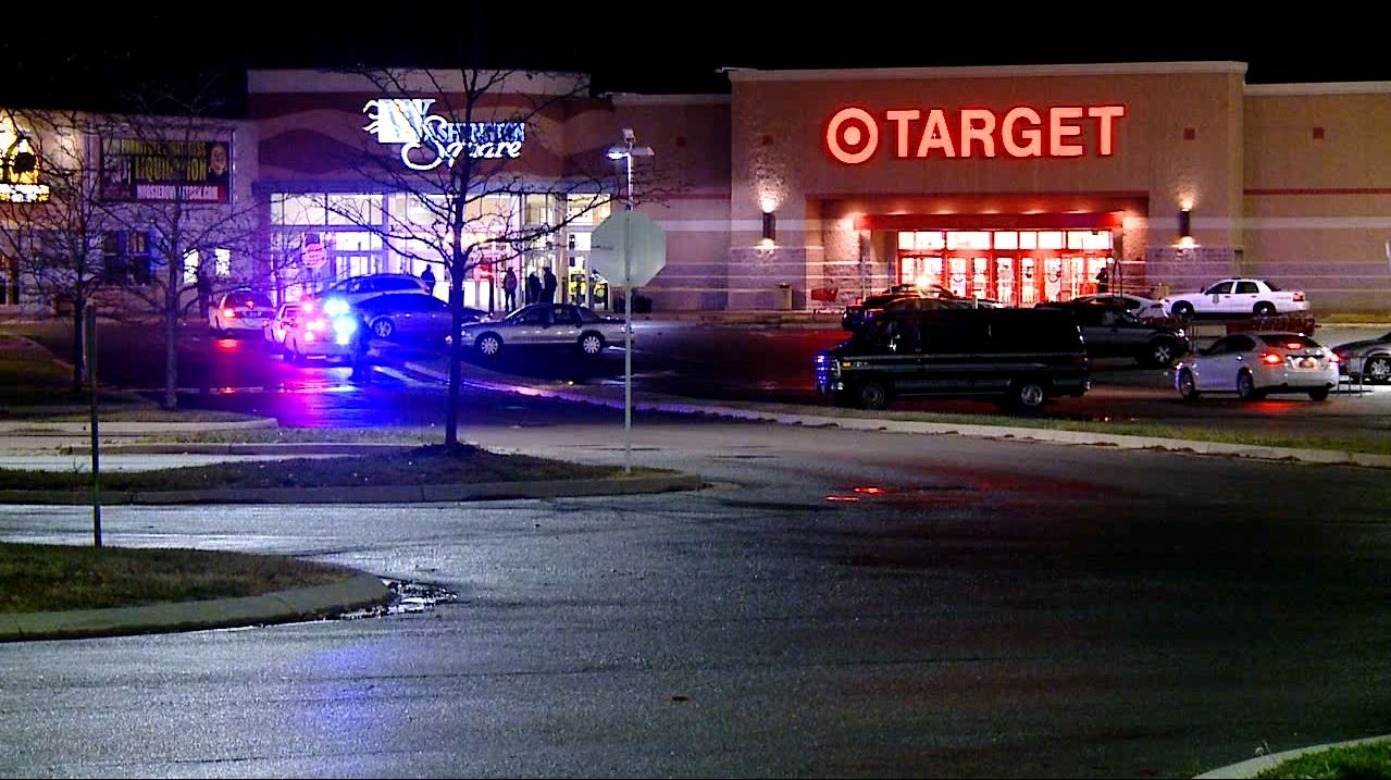 Reports say shots were fired inside the Target store at Washington Square Mall Wednesday, Oct. 28, 2015. (WXIN Photo)