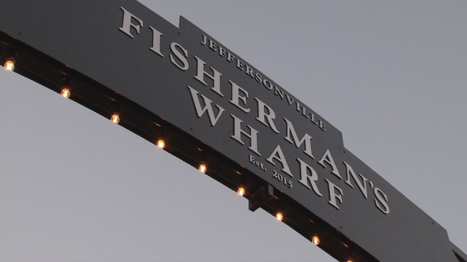 Now called Fisherman's Wharf the docks opened Thursday night.