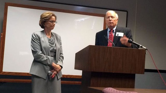 Tom Hudson will take over as JCPS chief business officer on Nov. 30 (Photo by Toni Konz, WDRB News)