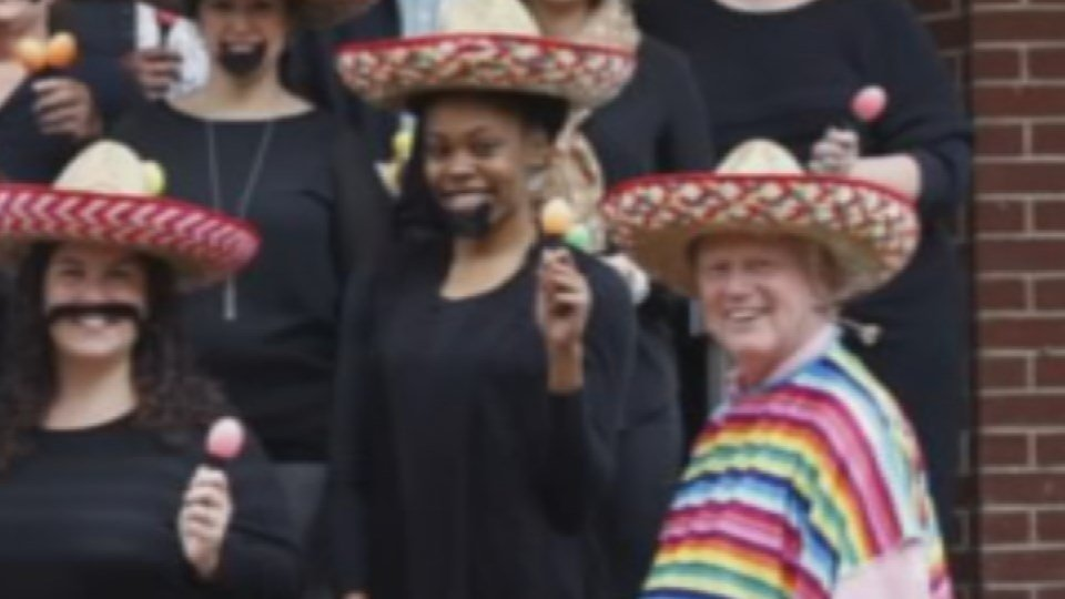 This photo published in the Courier-Journal has been called racist.