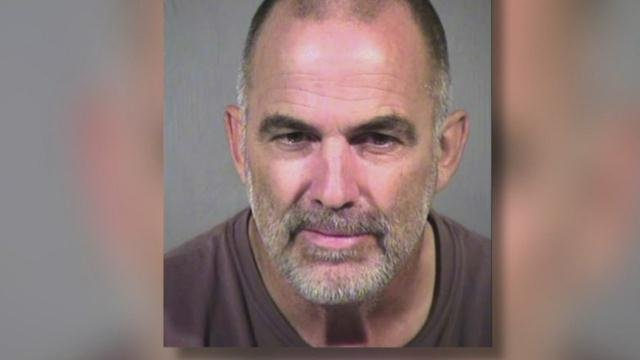 "Paul Rater is accused of leaving his 5-year-old daughter alone in the desert with a loaded gun ""to shoot the bad guys"" after his truck broke down."
