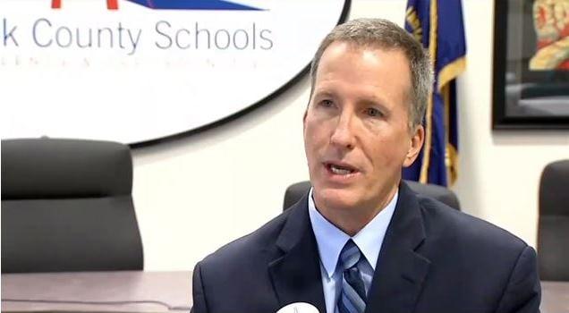 Andy Melin, Clark County Schools superintendent