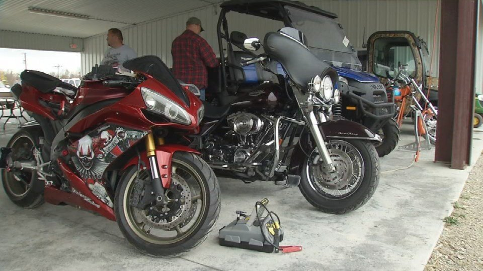 The auction includes trucks, cars, antique coins, motorcycles, lawn equipment, power tools, boats and more.