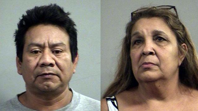 Mateo Jut and Clarisbel Alarcon (Source: Louisville Metro Corrections)