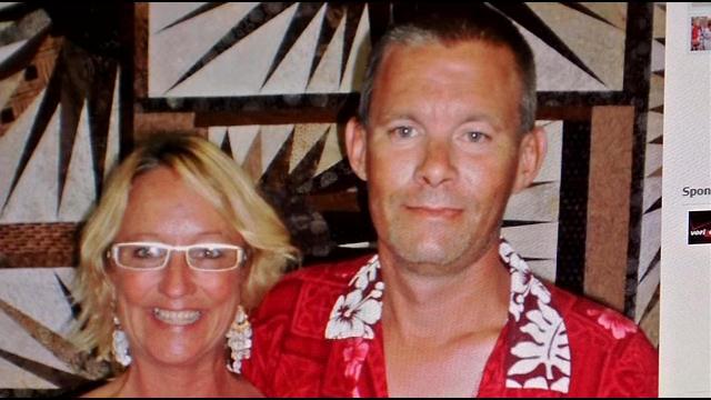 Gail Kelley and Michael Evans.