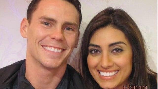 Kyle and Taraneh Momeni Kuric, photo via Facebook.