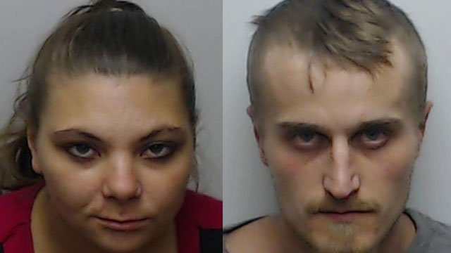 Cynthia Weigleb and Joseph Manske (Source: Clark County Detention Center)