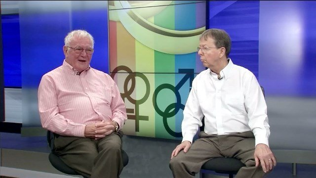 The oldest Kentucky plaintiffs Luke Barlowe and Jimmy Meade. They've been together for 48 years.