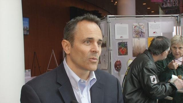 """Governor-Elect Bevin backed a """"vigilant"""" approach in blocking Syrian refugees pending a review of """"risks to our citizens."""""""