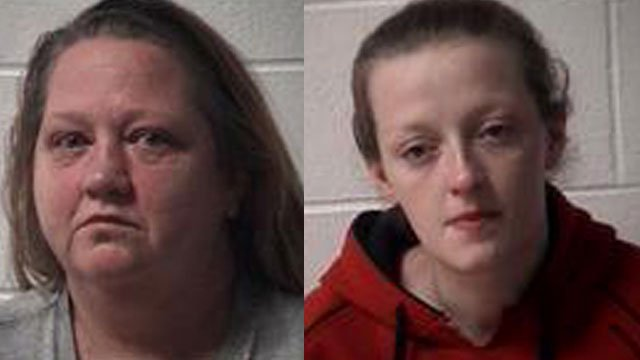 Patricia Caudill and Ginger Cox (Source: Scott County Detention Center)