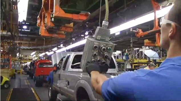 Ford's Kentucky Truck Plant in eastern Jefferson County