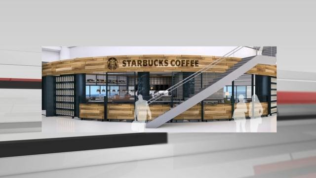 The plans include more shops and restaurants and a new concept called Starbucks Evenings.