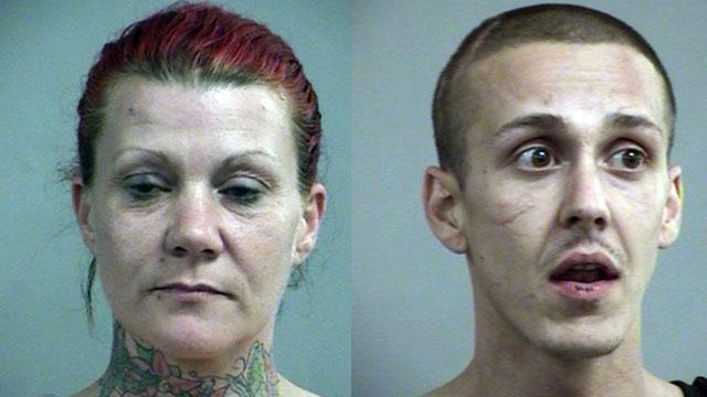 Tonia Basham and Travis Schmalz (Source: Louisville Metro Corrections)