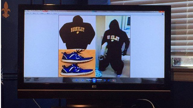 Police released this photo of the clothing worn by the suspect in the robbery of the Jefferson County Federal Credit Union on Nov. 13, 2015.