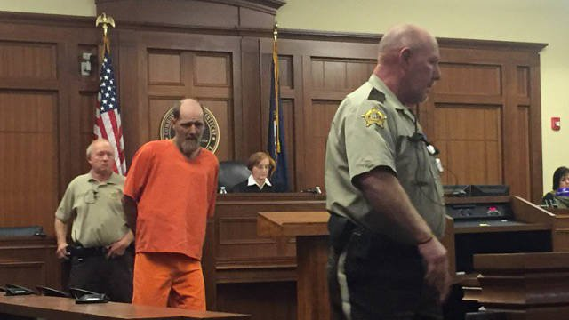 Timothy Madden appears in court for arraignment Monday, Nov. 23, 2015.