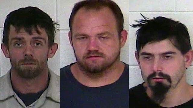 Joshua Sparkman, John Downey and Bobby Long (Source: Henry County Detention Center)