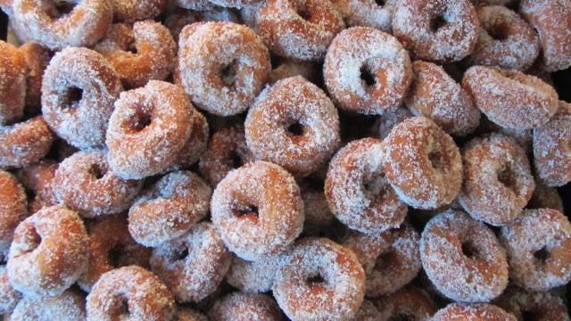 A stock photo of Finnish doughnuts (Courtesy: Anneli Salo/Wikimedia Commons).