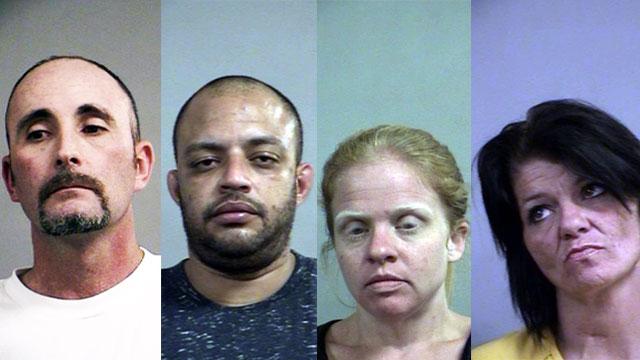 Jason Hager, Emmett Hathaway, Tara Tanzey and Lisa Burkhead (Source: Louisville Metro Corrections)