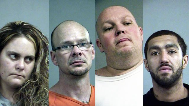 Lisa Cook, David Hayes, Jonathon Bratcher and Bentley Mays (Source: Louisville Metro Corrections)
