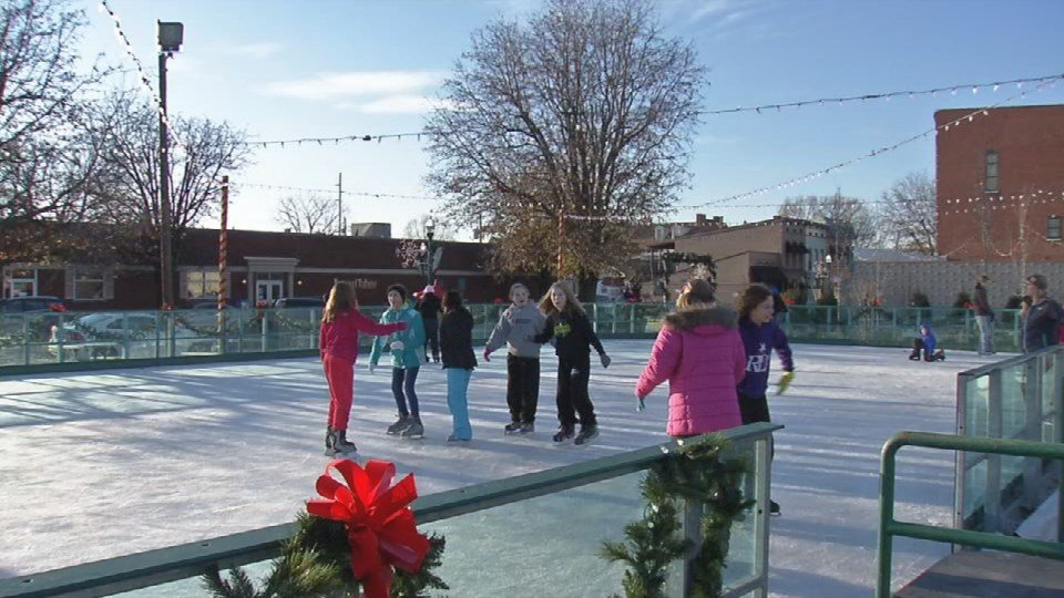 The cost to skate is $8 per person, but season passes are available for $40.