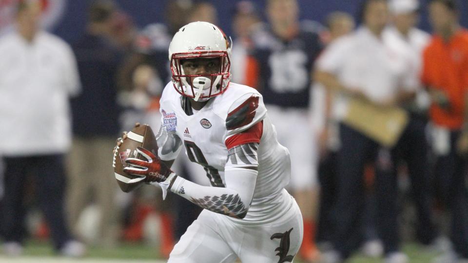Lamar Jackson. AP photo.