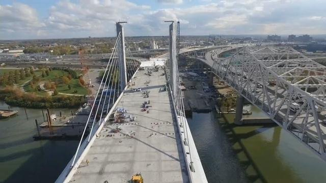 You've likely seen the construction, pictures, video, and WDRB's drone footage of the new bridge – and this Saturday (Dec. 5) from 10 a.m. – 2 p.m. you can actually walk it.