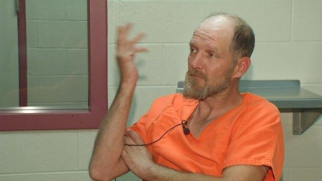 Timothy Madden spoke with WDRB from the Barren County Jail in Glasgow, Ky. not long after his arrest on Nov. 20, 2015.