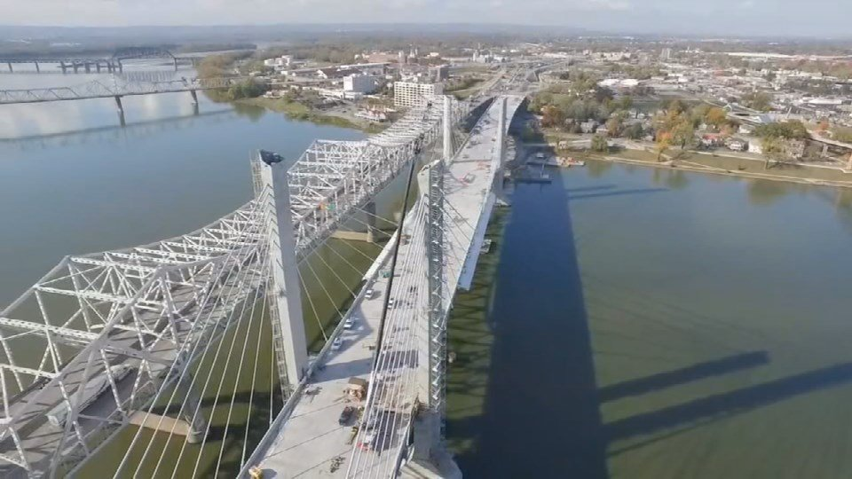 The freshly named Abraham Lincoln Bridge is set to open in just a few weeks but with comes more closures on other streets and KYTC is reminding drivers there's still a year of construction left.