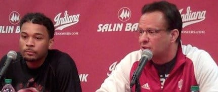 James Blackmon (left), Tom Crean and Indiana didn't have enough answers for Duke.
