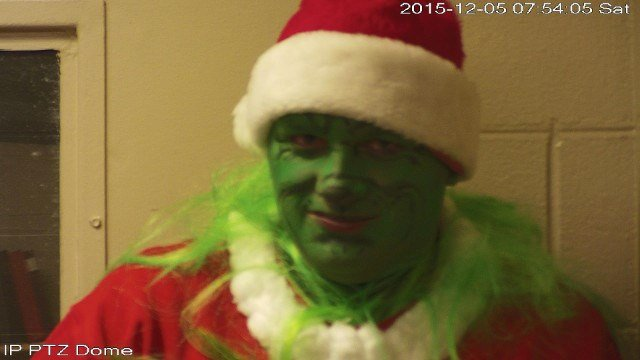 The Grinch's mugshot (Source: Mason County Detention Center)
