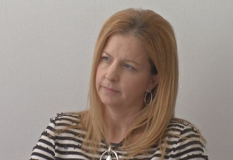 Dena Dossett, chief of data management, planning and evaluation for JCPS (WDRB News)