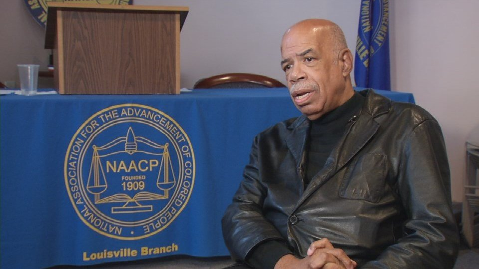 Raoul Cunningham, president of the Louisville NAACP (WDRB News)