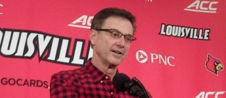 Rick Pitino was pleased that he team did not take a single challenged jump shot against Grand Canyon.
